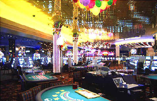 Harrahs Hotel Casino is one of the largest and liveliest spots on the Las